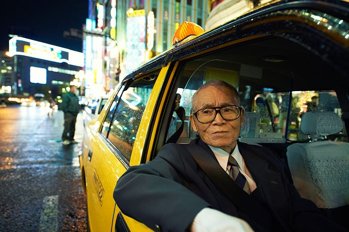 Zen Taxi Photography by famous photographer Irwing Wong