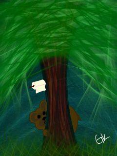 drawing drawing challenge bear tree