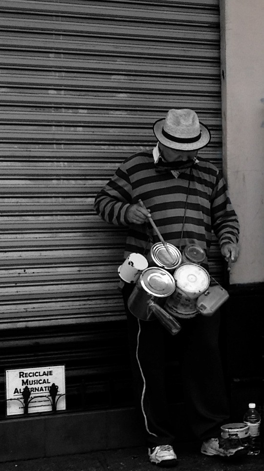 """""""Reciclaje Musical Alternativo"""" -México D. F."""