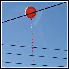 balloon minimalism freedom art sky