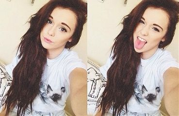 photography girl cute hair funny
