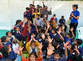 kids people india sports events