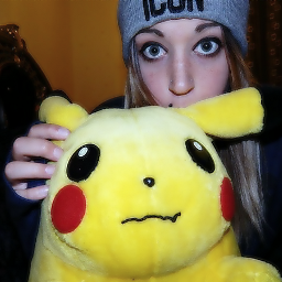 pokemon pikachu self
