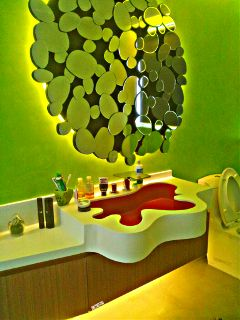 bath design project photography