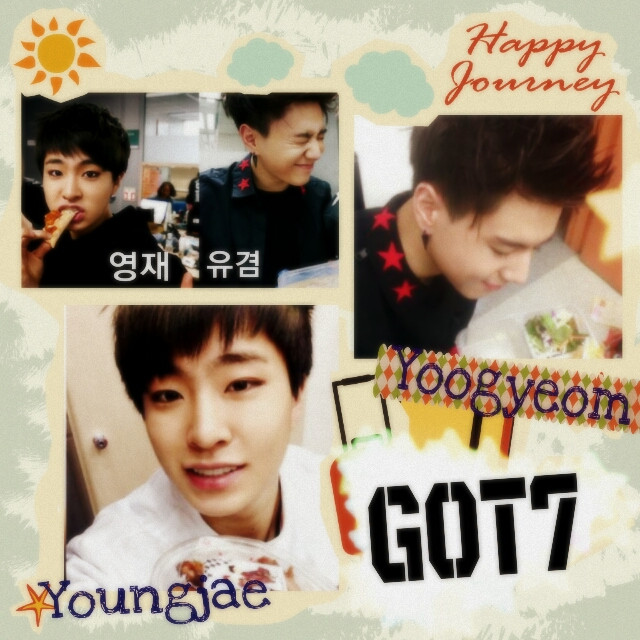Youngjae & Yoogyeom of GOT7♥