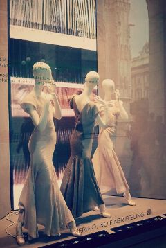 fashion reflection