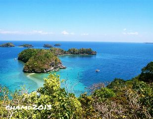 beach philippines pangasinan islands hundred islands travel