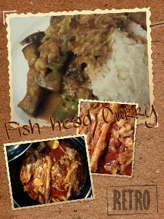 comfort food malaysia singapore fish head curry home cooking