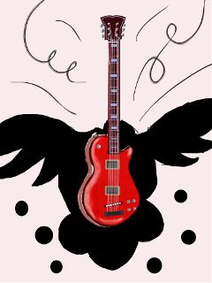 dcguitar music emotions drawing