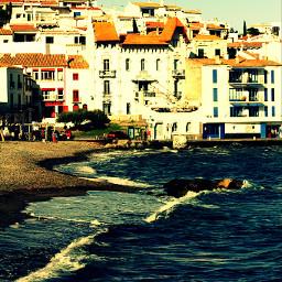 beach travel vintage summer retro