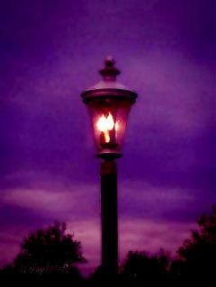 photography streetlight night sky edit challenge