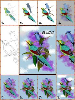 drawstepbystep drawing colorful pencil art nature