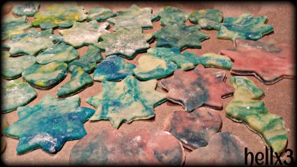 cookies photography colorful galaxy christmas