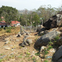 tanzania mwanza village housing rock city