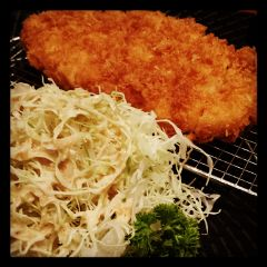 chicken katsu yabu food dinner photography